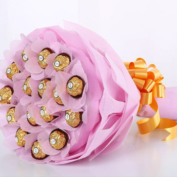 Mothers Day Chocolate Bouquet Online
